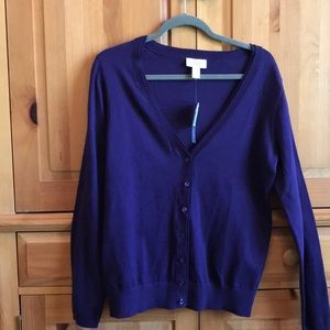 NWT LOFT Cardigan Sweater